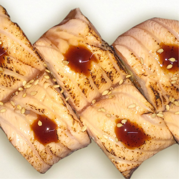Photo de Salmon aburi