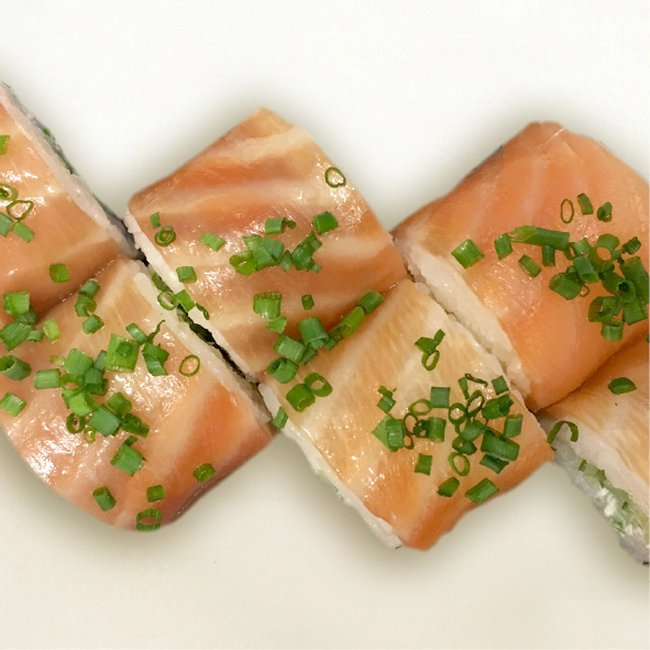 Photo de Smoke salmon roll